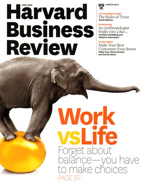 A stir about work-life balance